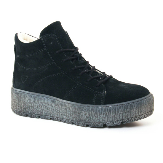 Tennis Et Baskets Mode Tamaris 26256 Black, vue principale de la chaussure femme