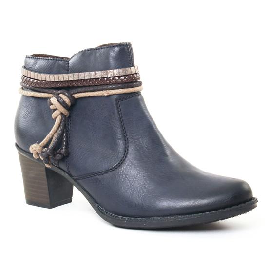 Bottines Et Boots Rieker L7658 Ocean, vue principale de la chaussure femme