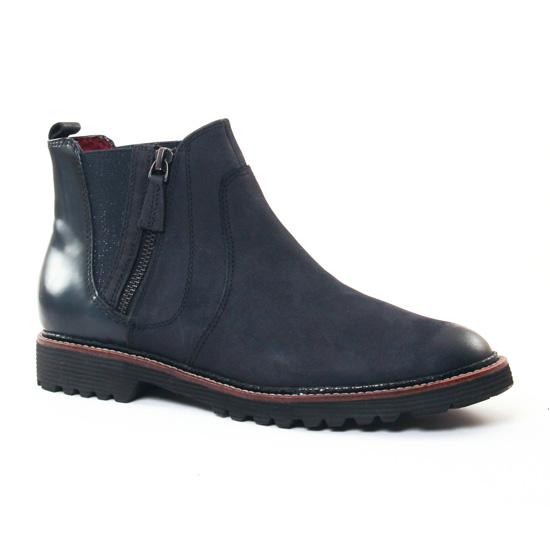 Bottines Et Boots Tamaris 25438 Navy, vue principale de la chaussure femme