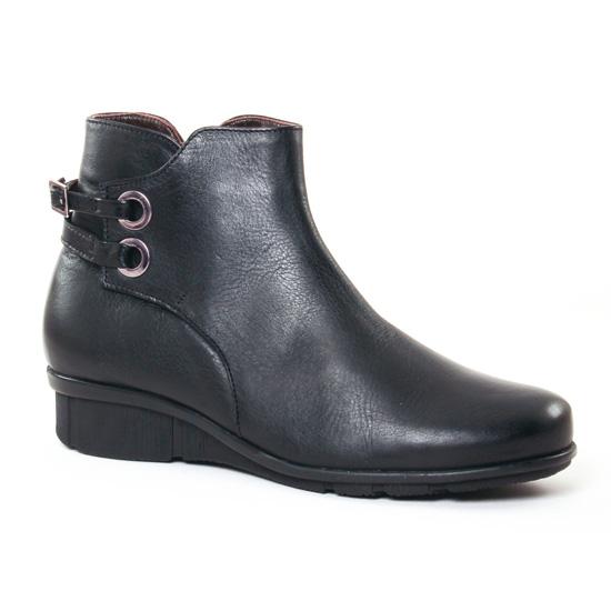 Bottines Et Boots On Zen 17124 Noir, vue principale de la chaussure femme