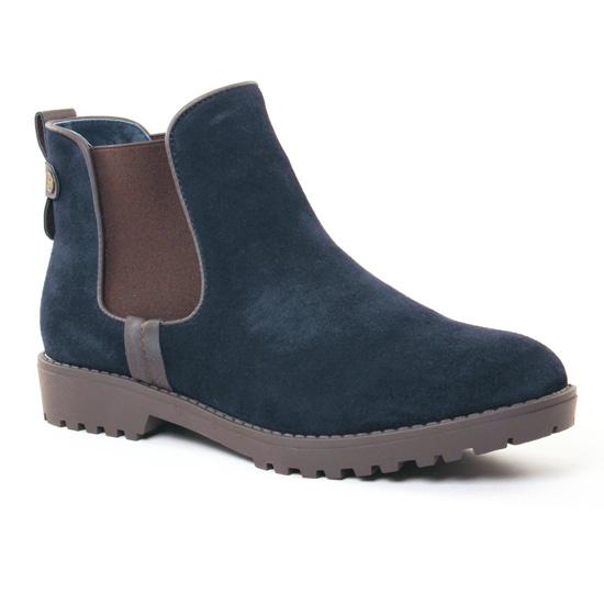 Bottines Et Boots Carmela 65695 Navy, vue principale de la chaussure femme