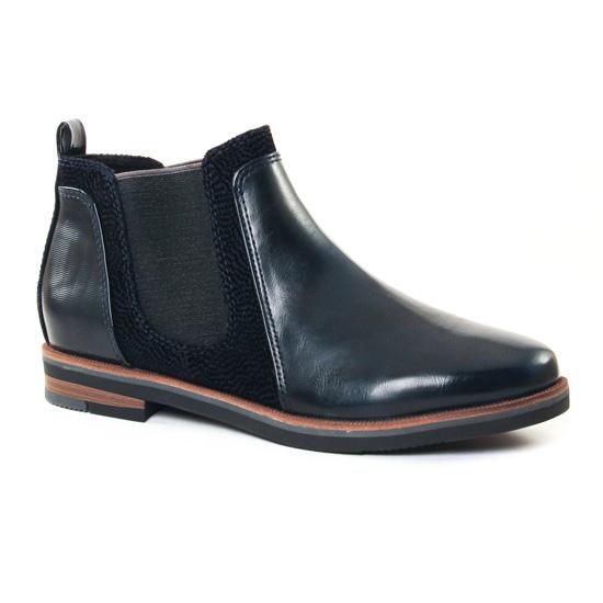 Bottines Et Boots Marco Tozzi 25335 Navy, vue principale de la chaussure femme