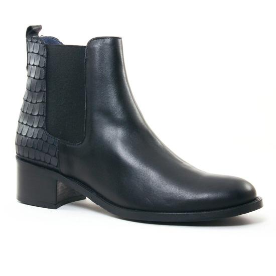 Bottines Et Boots Pintodiblu 62840 Noir, vue principale de la chaussure femme