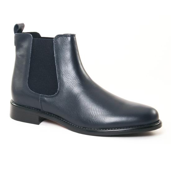 Bottines Et Boots Scarlatine 77545 B Marine, vue principale de la chaussure femme