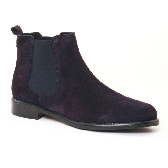 Bottines Et Boots Scarlatine 77545 K Marine, vue principale de la chaussure femme