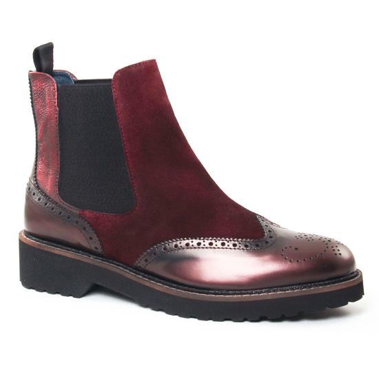 Bottines Et Boots Pintodiblu 78730 Bordeaux, vue principale de la chaussure femme