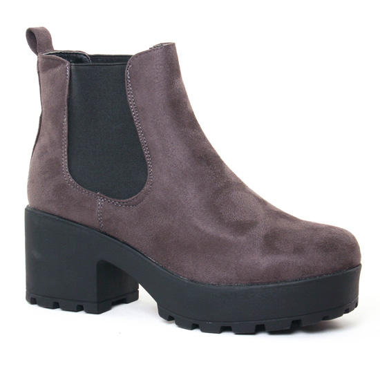 chez élastiquées hiver automne Coolway gris Irby Greyboot ikXOZPluwT