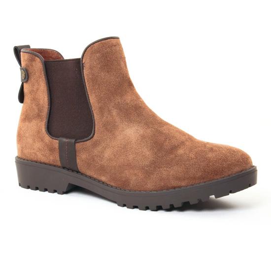 Bottines Et Boots Carmela 65695 Camel, vue principale de la chaussure femme