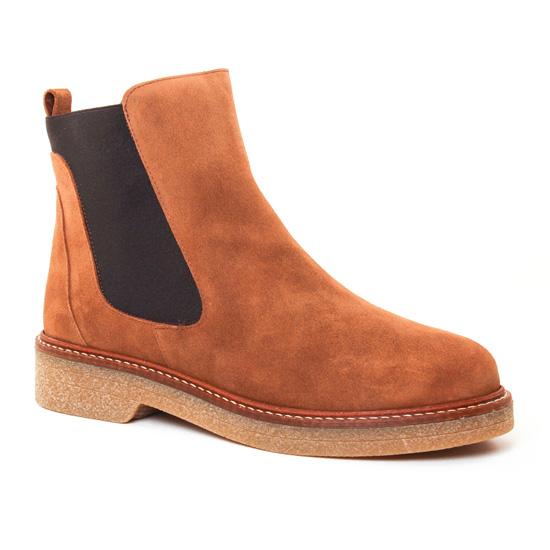 Bottines Et Boots Maria Jaen 5161N Tabaco, vue principale de la chaussure femme