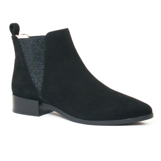 Bottines Et Boots Jb Martin 1Rush Noir, vue principale de la chaussure femme