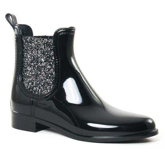 8d39e6f6a3e369 Bottines Et Boots Lemon Jelly Sardenha Black, vue principale de la chaussure  femme