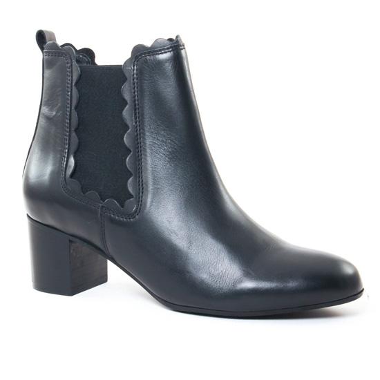 Bottines Et Boots Impact 294H Vit Black, vue principale de la chaussure femme