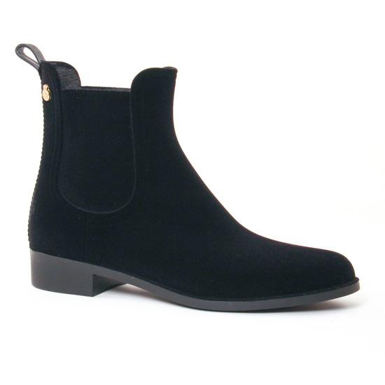 Bottines Et Boots Lemon Jelly Velvety Black, vue principale de la chaussure femme