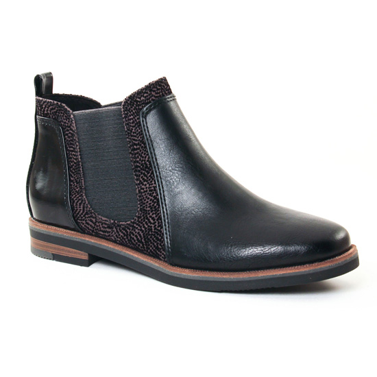 Bottines Et Boots Marco Tozzi 25335 Black, vue principale de la chaussure femme