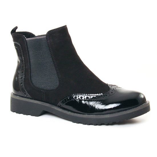 Bottines Et Boots Marco Tozzi 25496 Black, vue principale de la chaussure femme