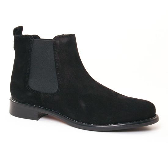 Bottines Et Boots Scarlatine 77545 K Noir, vue principale de la chaussure femme