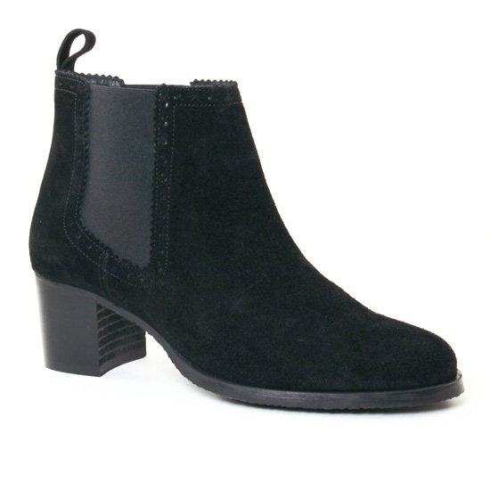 Bottines Et Boots Scarlatine 7800 Noir, vue principale de la chaussure femme