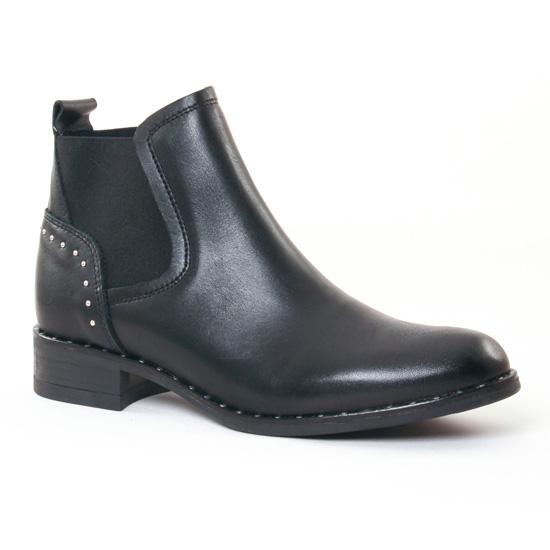 Bottines Et Boots Scarlatine 7828 Noir, vue principale de la chaussure femme