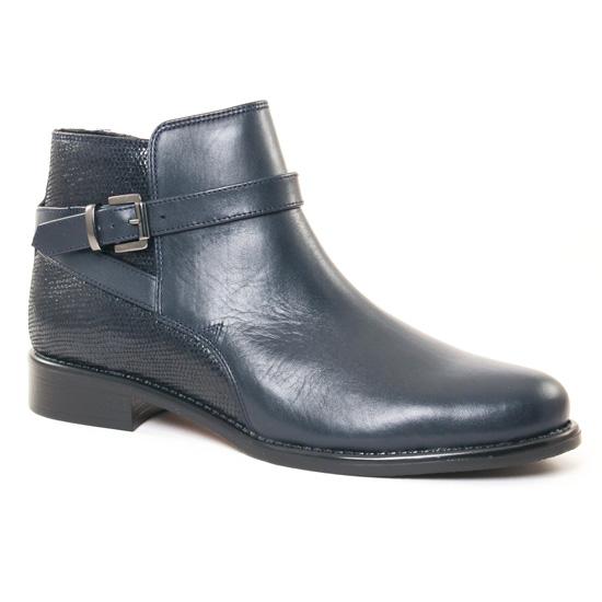 Bottines Et Boots Scarlatine 77579 L Marine, vue principale de la chaussure femme