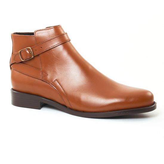 Bottines Et Boots Pintodiblu 80450 Cognac, vue principale de la chaussure femme