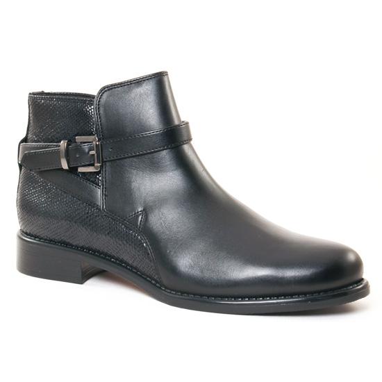 Bottines Et Boots Scarlatine 77579 L Noir, vue principale de la chaussure femme