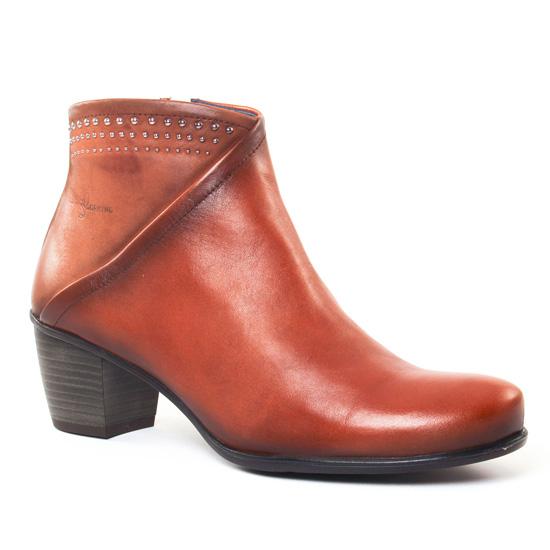 Bottines Et Boots Dorking Brisda 7263 Cuero, vue principale de la chaussure femme
