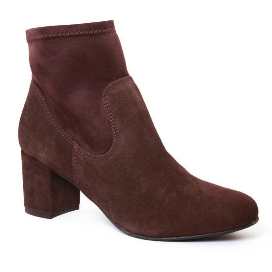 Bottines Et Boots Lassitude 5917 Marron, vue principale de la chaussure femme