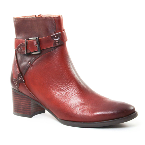 Bottines Et Boots Mamzelle Igny Box Gold Moka, vue principale de la chaussure femme