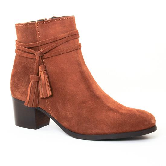 Bottines Et Boots Scarlatine 7835 Brun, vue principale de la chaussure femme