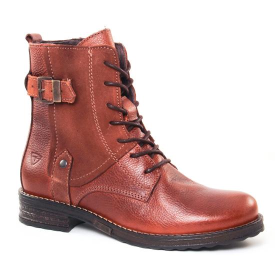Bottines Et Boots Tamaris 25276 Cognac, vue principale de la chaussure femme