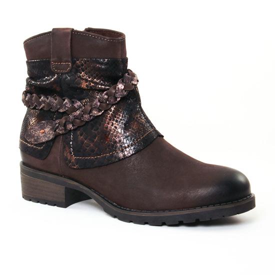 Bottines Et Boots Tamaris 25382 Mocca, vue principale de la chaussure femme