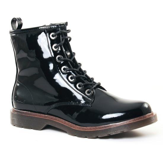 Bottines Et Boots Coolway Budapest Black, vue principale de la chaussure femme