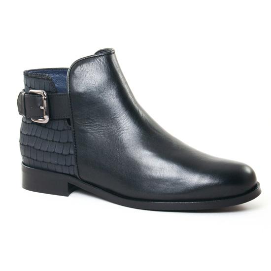 Bottines Et Boots Pintodiblu 79391 Noir, vue principale de la chaussure femme