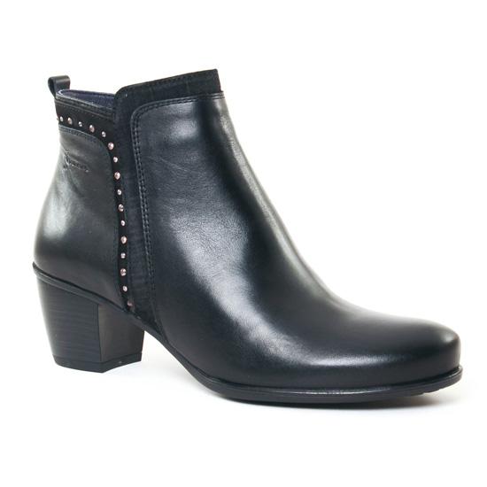 Bottines Et Boots Dorking Brisda 7256 Noir, vue principale de la chaussure femme