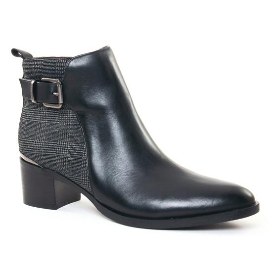 Bottines Et Boots Jb Martin Elinor Noir, vue principale de la chaussure femme