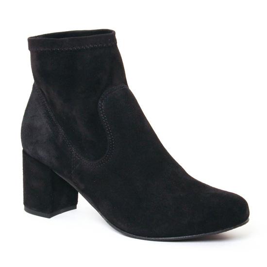 Bottines Et Boots Lassitude 5917 Preto, vue principale de la chaussure femme