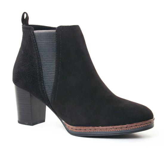 Bottines Et Boots Marco Tozzi 25358 Black, vue principale de la chaussure femme