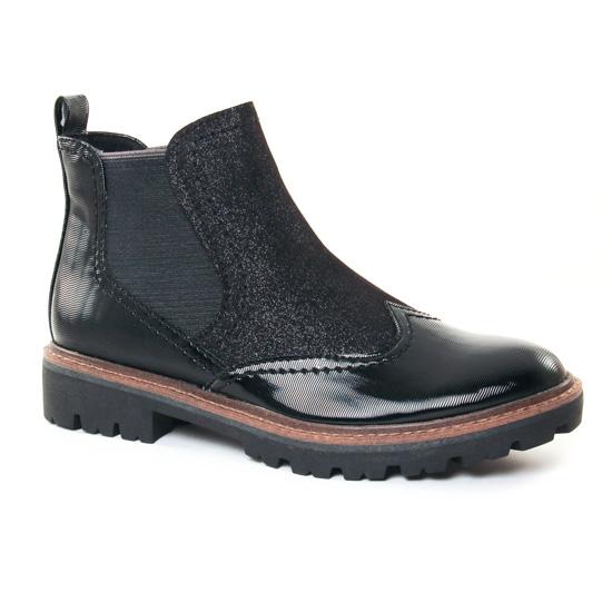 Bottines Et Boots Marco Tozzi 25412 Black, vue principale de la chaussure femme