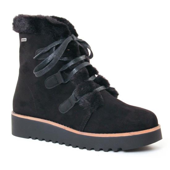 Bottines Et Boots Mtng 58556 Negro, vue principale de la chaussure femme