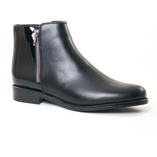 Bottines Et Boots Pintodiblu 80410 Noir, vue principale de la chaussure femme