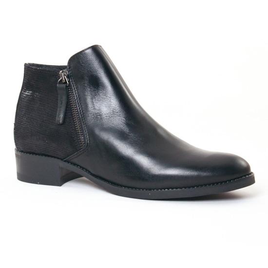 Bottines Et Boots Scarlatine 6649 Noir, vue principale de la chaussure femme