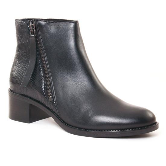 Bottines Et Boots Scarlatine 77766 Noir, vue principale de la chaussure femme