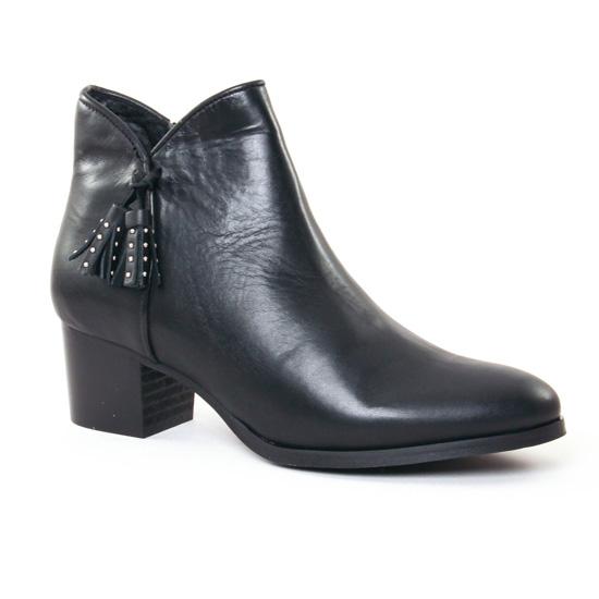 Bottines Et Boots Scarlatine 7938 Noir, vue principale de la chaussure femme