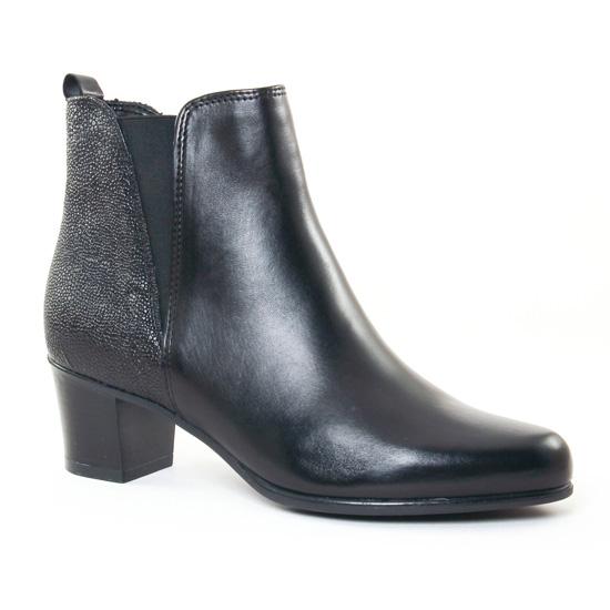 Bottines Et Boots Tamaris 25072 Black, vue principale de la chaussure femme