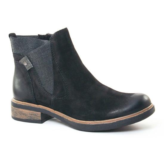 Bottines Et Boots Tamaris 25317 Black, vue principale de la chaussure femme