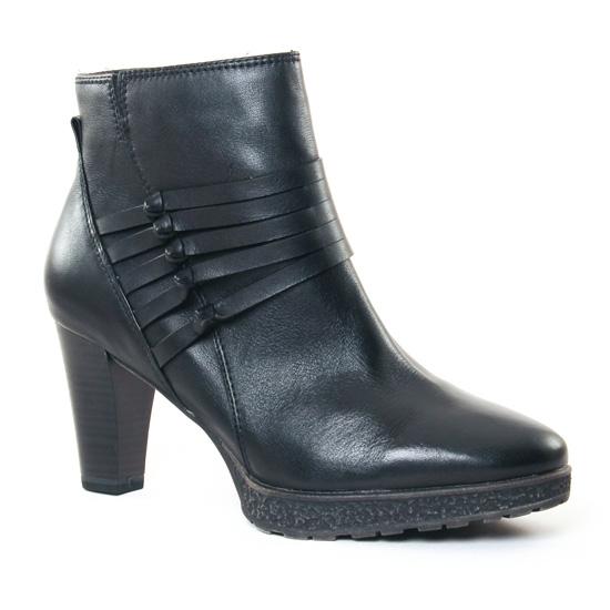 Bottines Et Boots Tamaris 25320 Black, vue principale de la chaussure femme