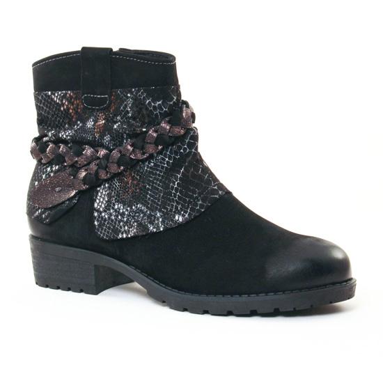 Bottines Et Boots Tamaris 25382 Black, vue principale de la chaussure femme