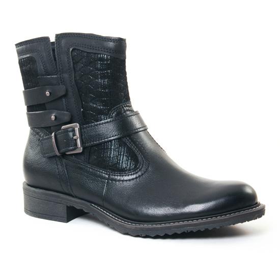 Bottines Et Boots Tamaris 25436 Black, vue principale de la chaussure femme