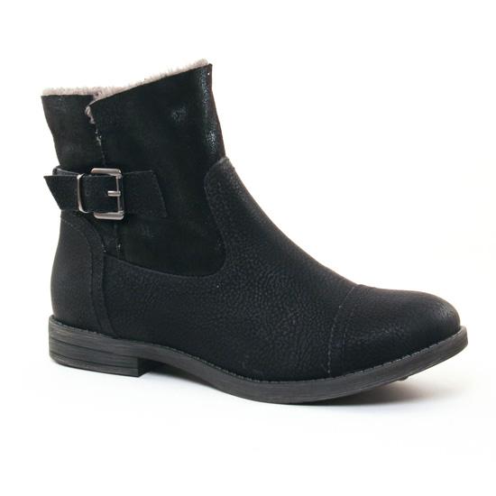 Bottines Et Boots Tamaris 26383 Black, vue principale de la chaussure femme
