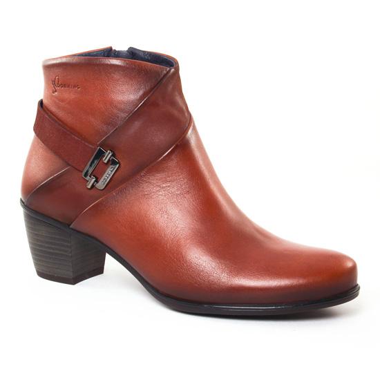 Bottines Et Boots Dorking Brisda 7261 Cuero, vue principale de la chaussure femme